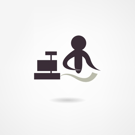 cashier icon Vector