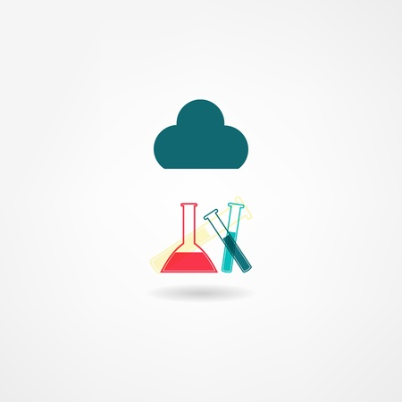 chemistry icon Stock Vector - 21450315