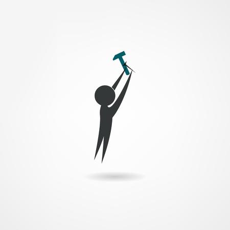 builder icon Illustration