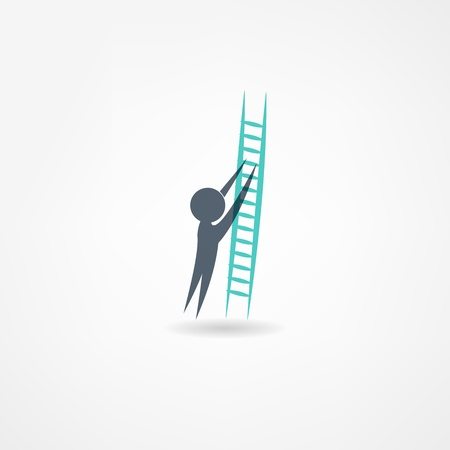 ladder icon Stock Vector - 21450651
