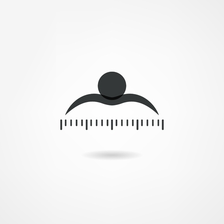 measure tape: measure icon