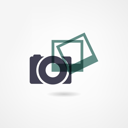 photo icon Stock Vector - 21601779