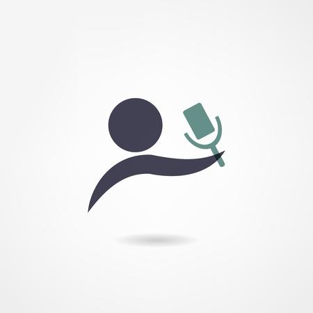 Mikrofon-Symbol