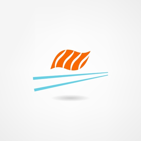 sushi icon Stock Vector - 21602388