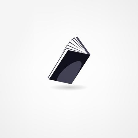 book icon Stock Vector - 21718413