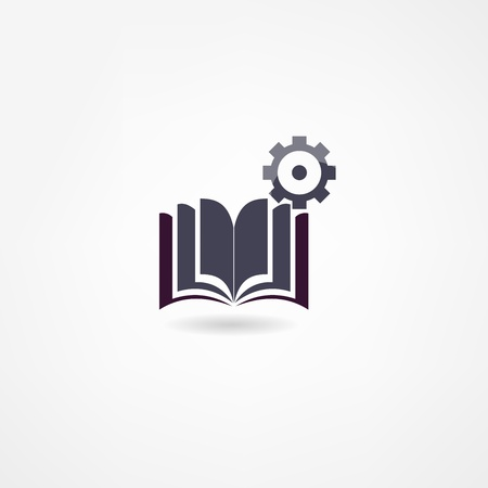 book icon Stock Vector - 21718426