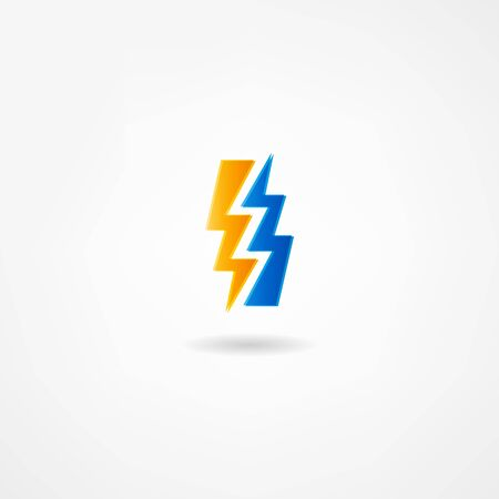 electricity icon Illustration