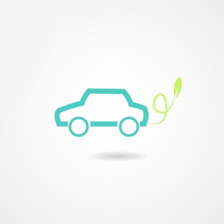 headlight: car icon Illustration
