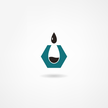 oil well: oil icon