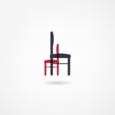 stool icon Stock Vector - 21718580