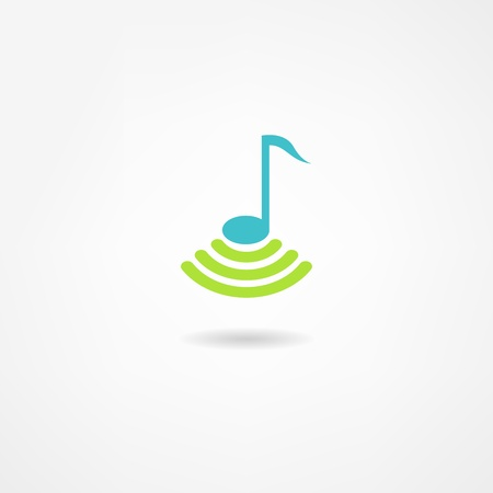 music icon Stock Vector - 21718623