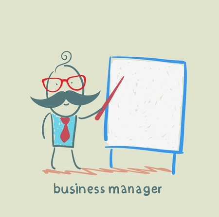 manager: business manager at the poster shows