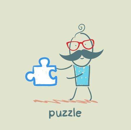 art piece: puzzle