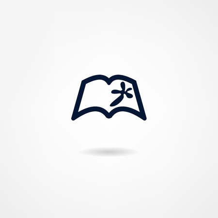 book icon Stock Vector - 21982000