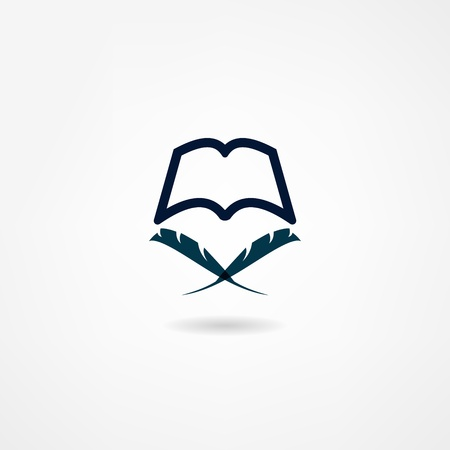 book icon Stock Vector - 21981923