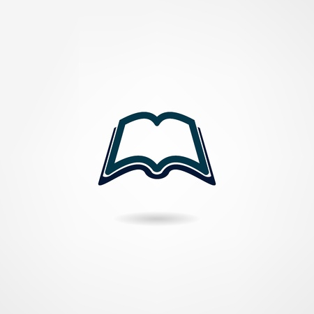 book icon Stock Vector - 21981922