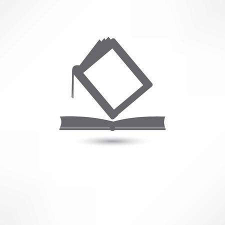 electronic publishing: books icon Illustration