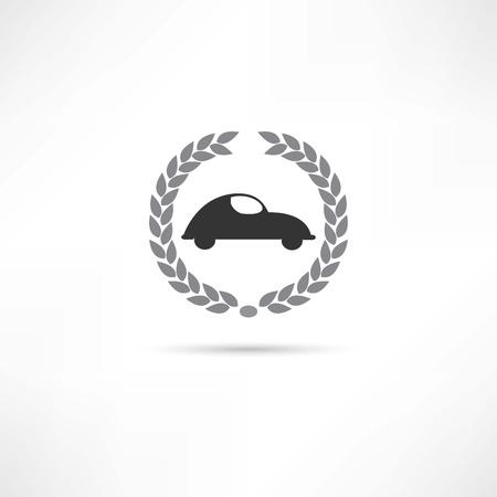 bolid: car icon Illustration