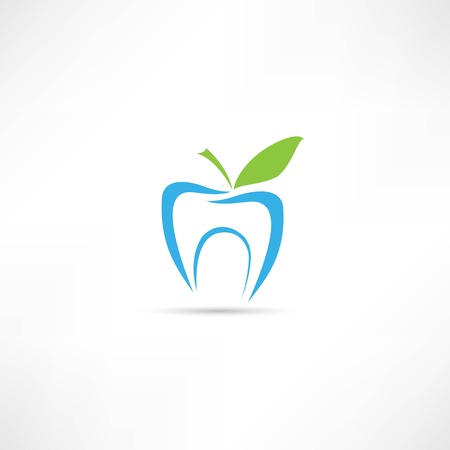 tooth whitening: dente icona