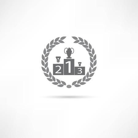 first icon Stock Illustratie