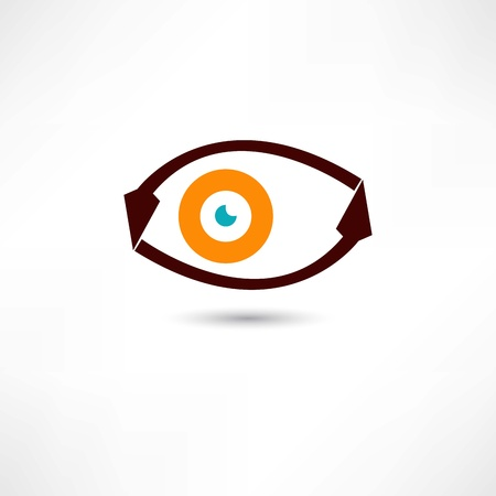 eye icon Stock Vector - 21983074