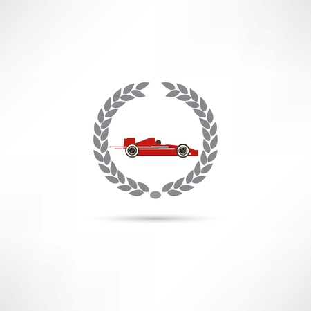 formula one car: sport car icon