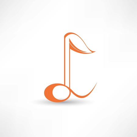 music icon Stock Vector - 21983423