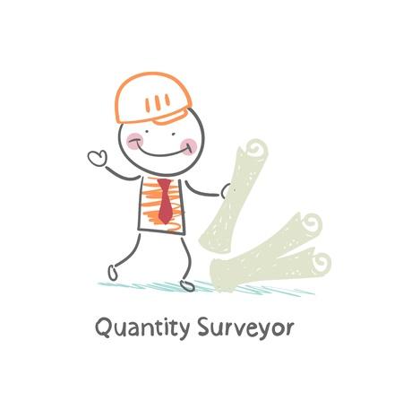 surveyor: Aparejador con los documentos