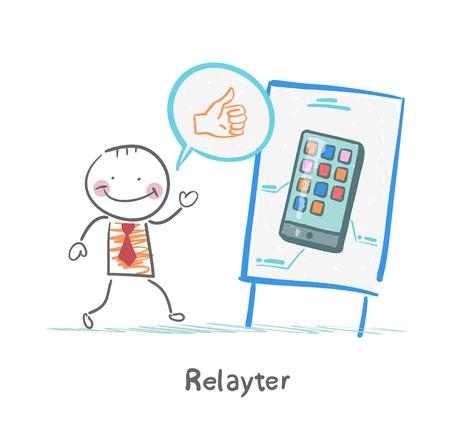 popularity popular: Relayter praises mobile phone