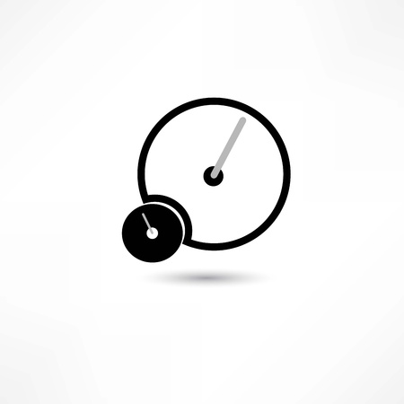 speed: speed icon Illustration
