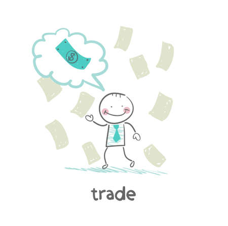 thinks: trade thinks about money