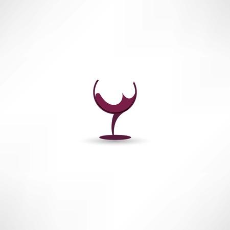 black grape: wine icon