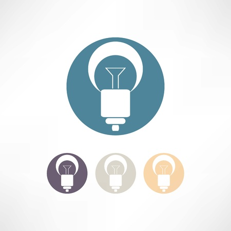 energysaving: Bulbs icon