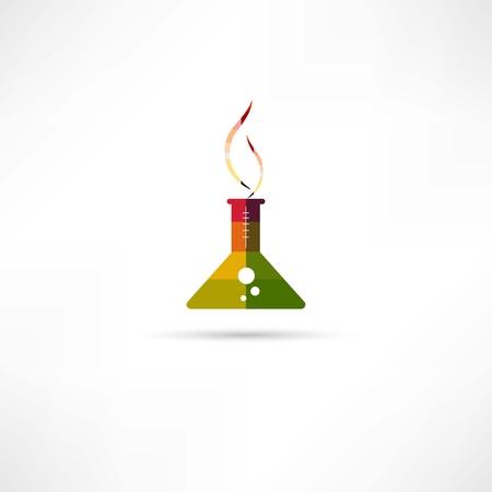 chemistry icon Stock Vector - 22073062