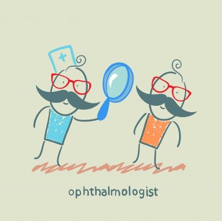 ophthalmologist: ophthalmologist ??????? ?? ???????? ????? ???? Illustration
