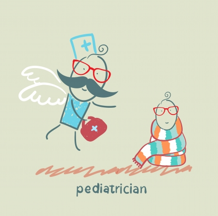 pediatrician: pediatrician flies to a sick child