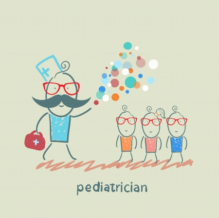 miracle: pediatrician shows children miracle