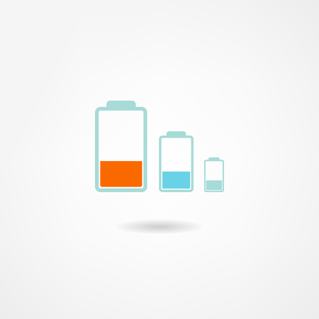 battery icon Stock Vector - 22535520