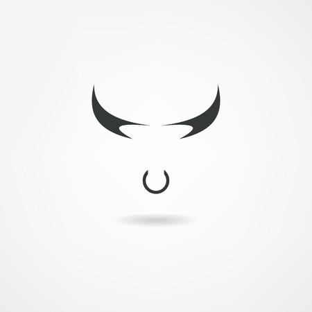 Stier-Symbol Standard-Bild - 22535591