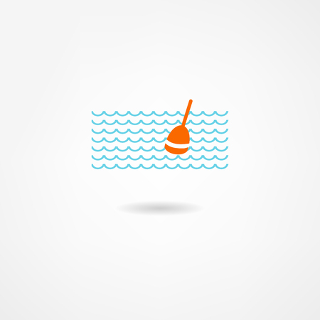 salmon leaping: fish icon