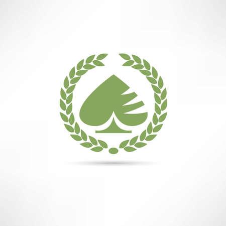 card game icon Vectores