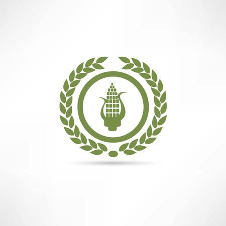 corn icon Illusztráció