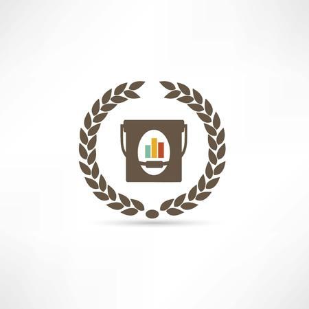 platen: platen icon Illustration