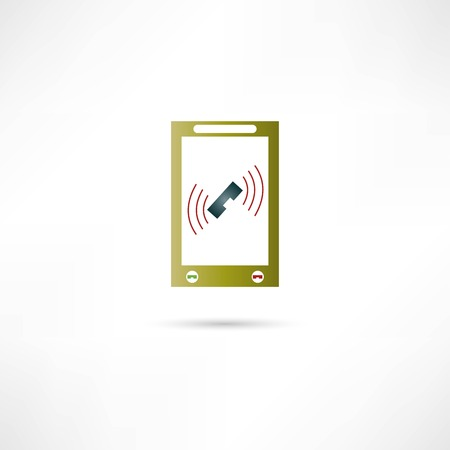 phone icon Stock Vector - 22536158