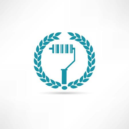 platen icon 向量圖像