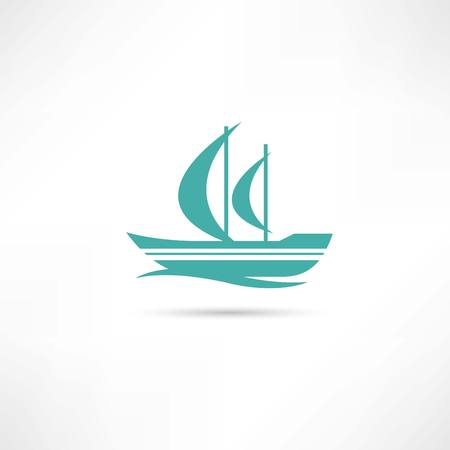 sailfish icon Vector