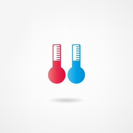 barometer: thermometer icon