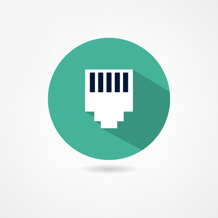 usb cable: computer connectors icon