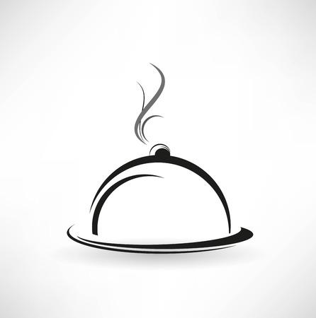 cloche icono Ilustración de vector