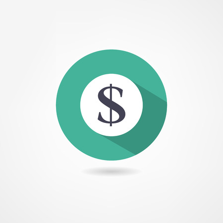 dollar icon: dollar icon Illustration